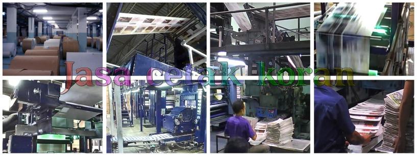 proses cetak koran